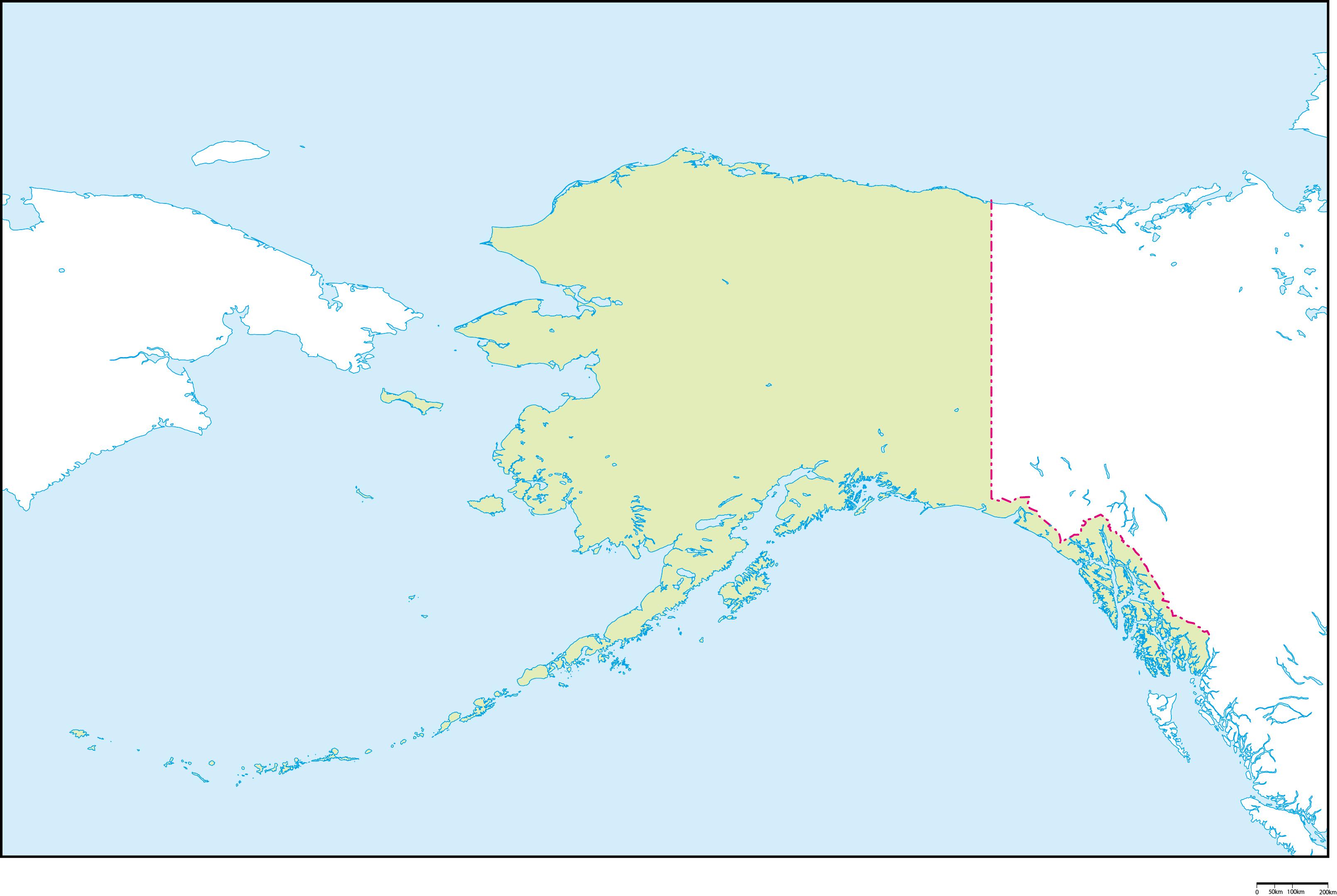 アラスカ州