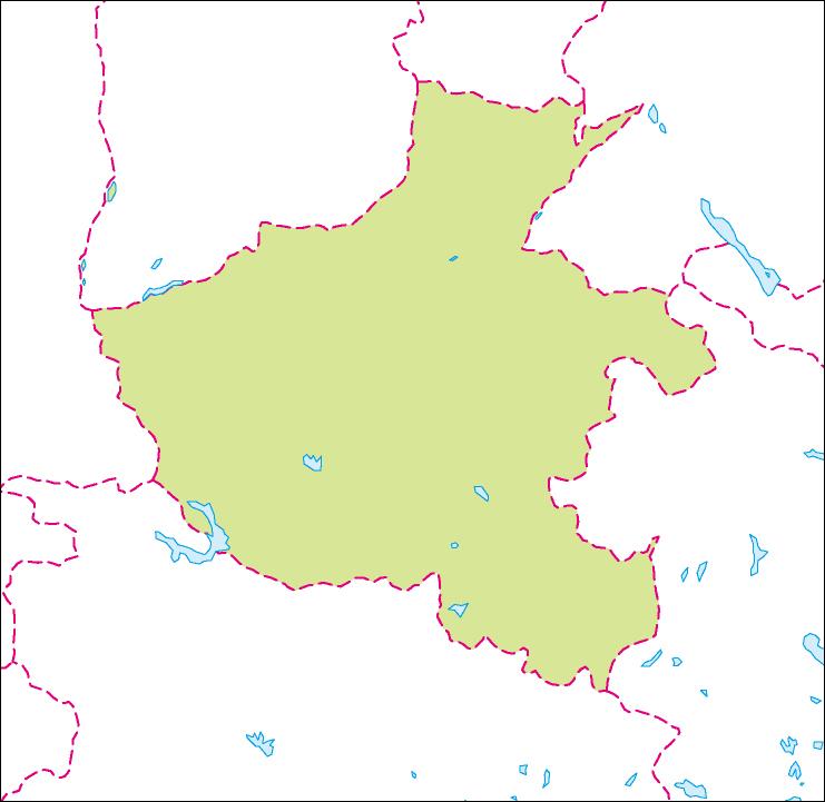 河南省地図のフリーデータ