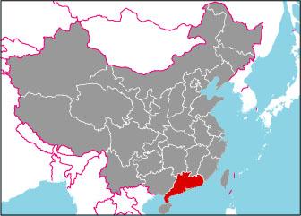 広東省の基本情報やフリー地図・...