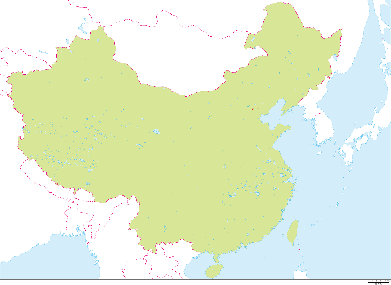 中国全土地図 - 中国の基本情報...