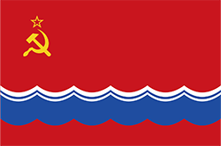 エストニア・ソビエト社会主義共和国の旗(1953年–1990年)