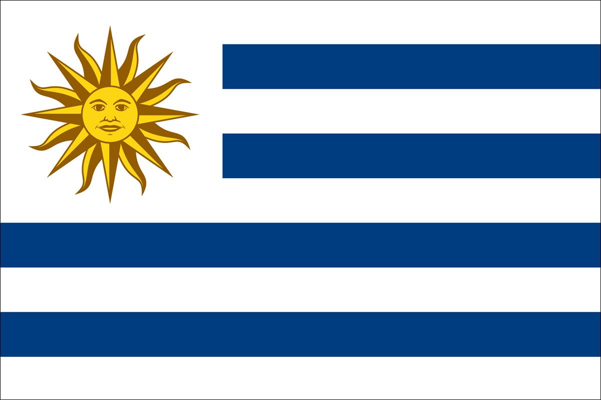 ウルグアイの国旗