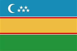 カラカルパクスタン共和国の旗