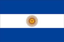 1818-1820のアルゼンチン国旗