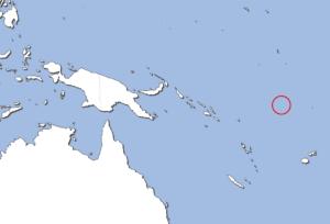 ツバルの地図