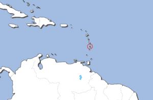 セントルシアの地図