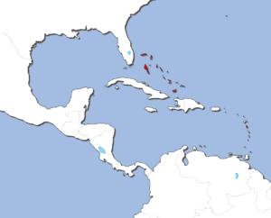 バハマの地図