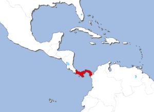 パナマの地図
