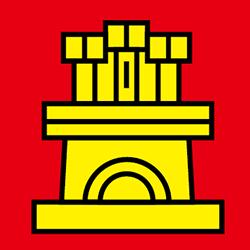 ポルトガル国旗の中の城