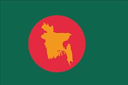 バングラデシュの独立前の旗