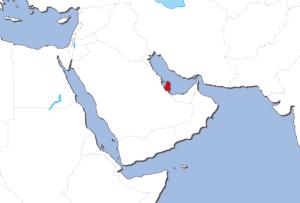 カタールの地図