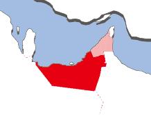 アブダビの地図