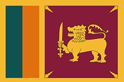 スリランカ国旗の変遷1951–1972