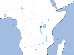 ルワンダの地図