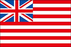 イギリス東インド会社の旗、