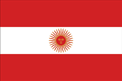 ペルー国旗2番目のデザイン
