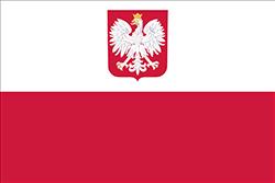 紋章付きの旗