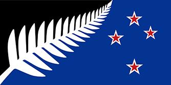 ニュージーランド新国旗の案D