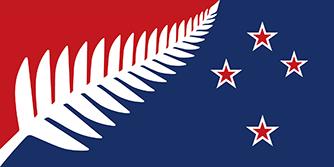 ニュージーランド新国旗の案B