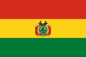 ボリビアの国旗