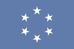 太平洋諸島信託統治領の旗