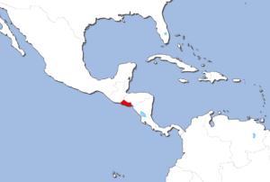 エルサルバドルの地図
