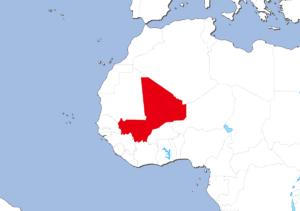 マリの地図
