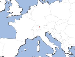 リヒテンシュタインの地図