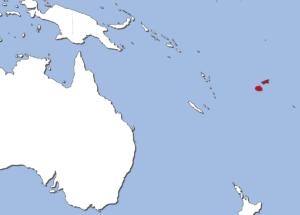 フィジーの地図