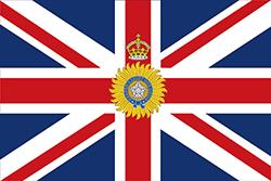 インドの総督の旗1885–1947
