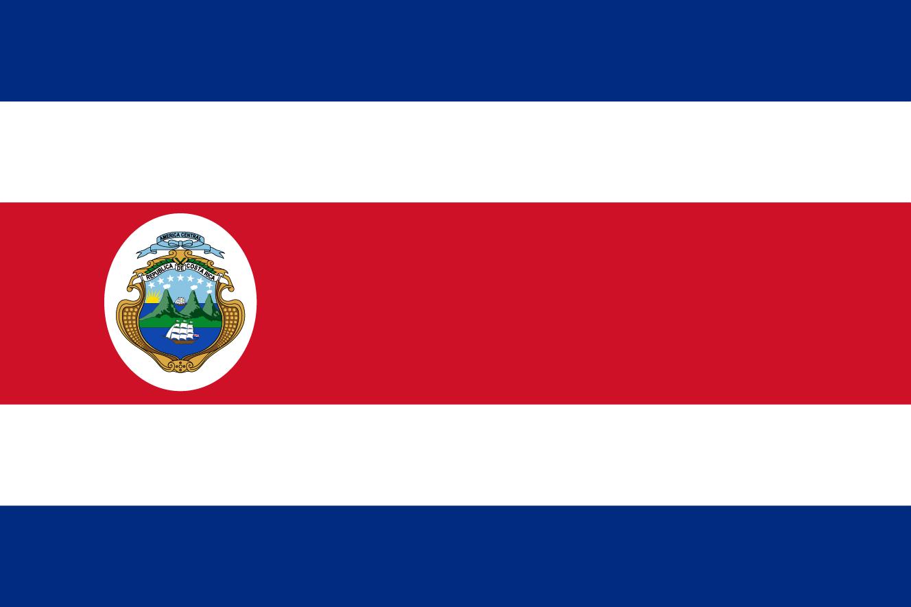 コスタリカの国旗