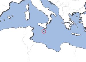 マルタの地図