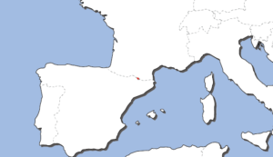 アンドラの地図