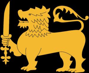 剣を持ったライオン