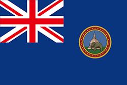 スリランカ国旗の変遷1875-1948