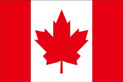 1964年提案のカナダ国旗
