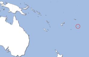 ニウエの地図