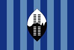 エスワティニ王国の国旗1894-1902