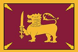 キャンディ王国の旗