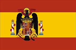 フランシスコ・フランコ独裁政権時代の国旗