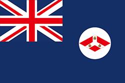 海峡植民地旗