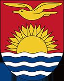 英領ギルバート・エリス諸島時代の旗の紋章