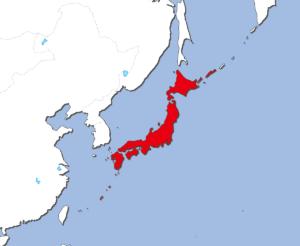 日本の地図
