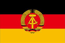 東ドイツの国旗