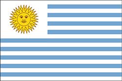 ウルグアイ国旗1828-1830