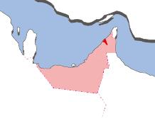 ウンム・アル=カイワインの地図