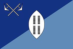 エスワティニ王国の国旗1890-1894