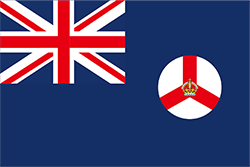 シンガポール植民地の旗