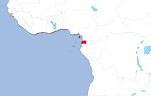 赤道ギニアの地図