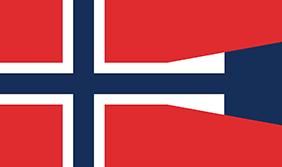 ノルウェーの政府旗